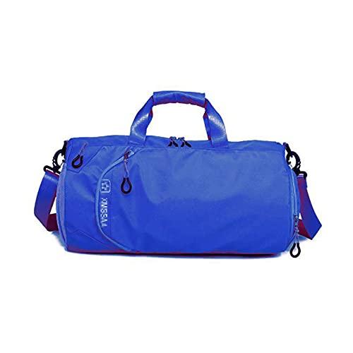 ATRNA Bolsa de Deporte, Impermeable Bolsa de Viaje Bolsa de Gimnasio con Compartimento para Zapatos y Ropa Mojada Gym Bag Duffle Bag