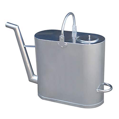 Bidón para combustible A largo boca de aluminio portable del reaprovisionamiento del tambor con espesado a prueba de explosiones Petróleo Diesel oil Kerosene Fuel tambor olla con tapa Bidón de gasolin