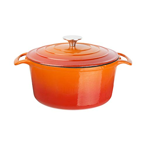 Vogue Gh303 Cocotte Rond, grande, Orange,