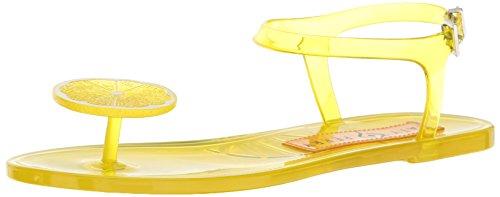 Katy Perry Women's The Geli Flat Sandal, Lemon, 9