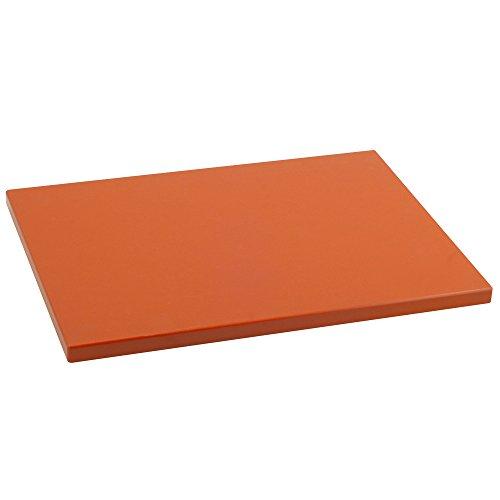 Metaltex - Tabla de cocina, Polietileno, Mandarina, 38 x 28 x 1,5 cm
