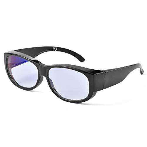 Safeyear SG012 - Gafas de seguridad para laboratorio de ciencias y deportes al aire libre, Normal, Negro