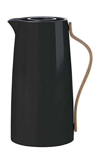 Stelton Emma Isolierkanne Kaffee 1,2 L matt schwarz
