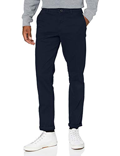 Selected Slhnew Paris Broeken/Pantalons Heren Marine - DE 38/40 (US 29/32) - Chinos Pants