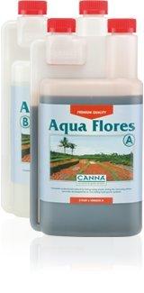 水耕栽培肥料 CANNA Aqua Flores(1000ml)A&Bセット