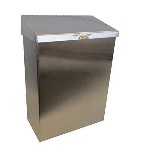 Hospeco ND-1E Stainless Steel Feminine Hygiene Receptacle