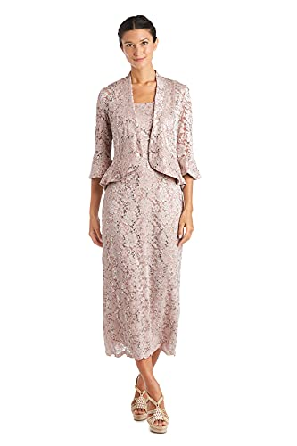 R&M Richards Women's The Most Elegant Woman in The Room, Blush, 16