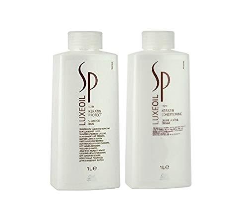 Wella Wella SP Luxe Oil Keratin Protect Shampoo 1000ml + Nourishing Cream 1000ml