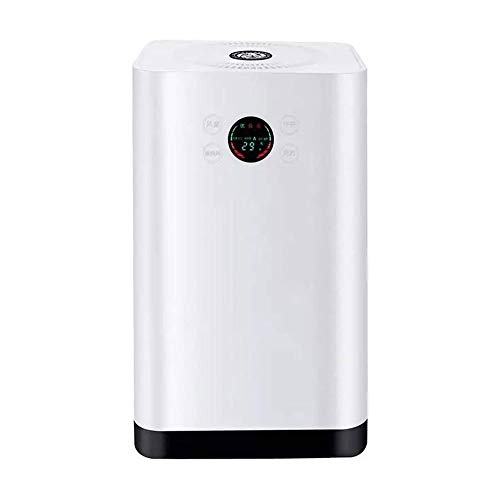 LKNJLL Air Purifier for Home and Pets with True HEPA Filter and Activated Carbon Air Cleaner Ultra Quiet Air Purifier Filter for Bedroom, Baby's Room and Office Etc.