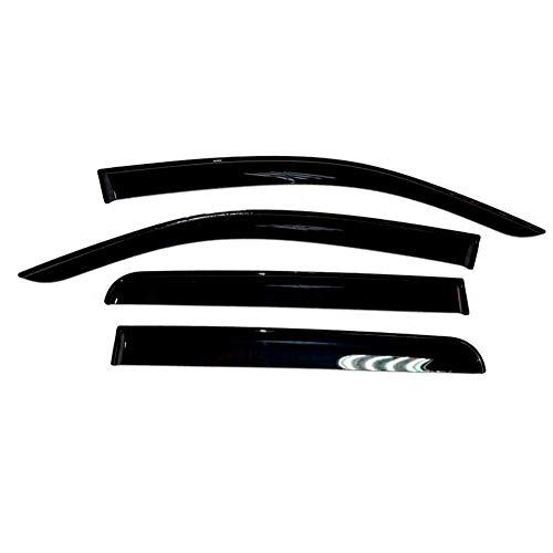 SHENYI Deflectores de Viento For Toyota Hilux 2006-2015 Ventana de Coche deflectores de Viento Deflector Guardia Lluvia de Sun del Visera Vent Ajuste de la Cubierta del Coche Que Labra los Accesorios