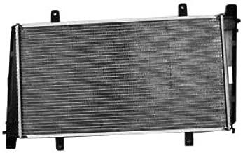 TYC 2400 Volvo 1-Row Plastic Aluminum Replacement Radiator