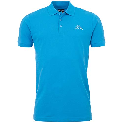 Kappa Herren PELEOT Poloshirt, 726 malibu blue, XL