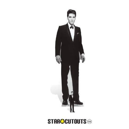Star Cutouts Figur von Elvis im Smoking