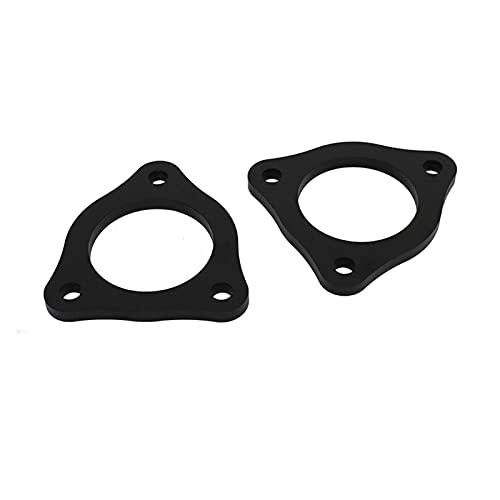 White skin Kit de elevación de suspensión de automóvil 0.5 Pulgadas de Ajuste for Ford F150 Kit de nivelación de elevación Frontal 2WD 4WD 2004-2019 (Color : Black)
