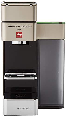Illy – 6739 – Kaffeemaschine für Kaffeepads, 19 bar, 1250 W, Satin