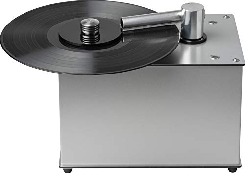 Pro-Ject VC-E, Compact record cleaning machine, Silv