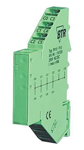 Unbekannt Metz Connect Potentialverteiler PV 10 Durchgangs-Reihenklemme 4250184123187