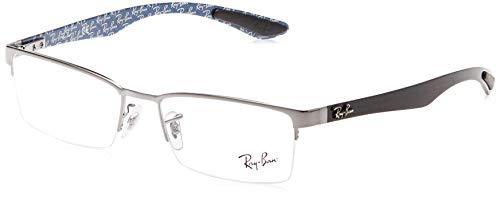 Ray-Ban Herren 0rx 8412 2502 54 Brillengestell, Grau (Canna Di Fucile)