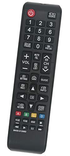 ALLIMITY BN59-01268D BN59-01303A Mando a Distancia Reemplazar Apto para Samsung Smart TV UE32M5520AK UE43MU6175 QE55Q7FAMT...