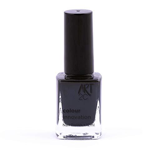 Art 2C Lady in Black Colour Innovation Classic Nail Polish - Smalto per unghie classico, 96 colori, 12 ml, colore: 002