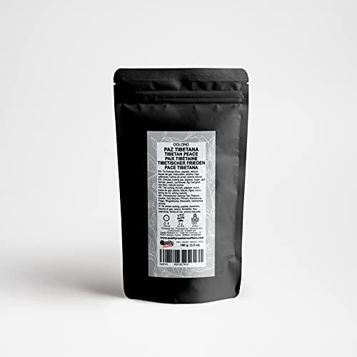 Oolong Tee. Tibetischer Frieden. Mischung. Mit Oolong-Tee, papaya, goji-beeren, ringelblume, kornblume, pfirsich und feige. Hohe Qualität. Antioxidant. Diuretikum. 100 g.