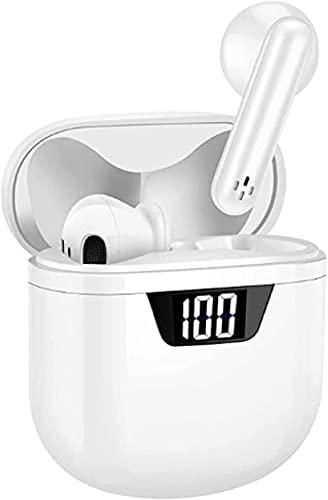 Auriculares Inalámbricos Bluetooth Auriculares Inyectores Incorporados En Micrófono En Brotes De Orejas Que Cancelan Los Auriculares Estéreo 3d Para El Entrenamiento Oficina De Viaje (carga Rápida)