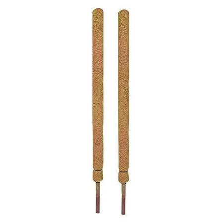 COIR GARDEN-Coco Pole 4 feet - 2 Pieces – Coir & Moss Stick for Money Plant Support, House Plants, Indoor Plants & Plant Climbers - Coir garden