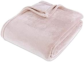 Berkshire VelvetLoft Throw Blanket (Rose)