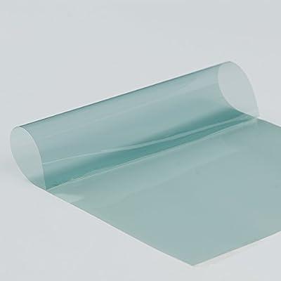 Hoho Bleu clair de voiture pare-brise Window film solaire teinté VLT 65% Nano en céramique teinté pour fenêtre de côté