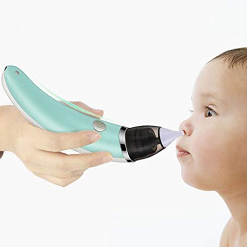 LeftSuper Aspirador Nasal para bebés Cuidado de la Salud del bebé Aspirador Nasal Limpiador de Nariz higiénico eléctrico para niños y niñas