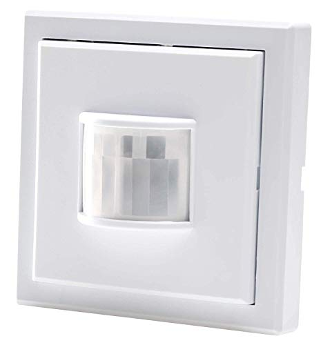 Funk-Bewegungsmelder - Aufputz - Batteriebetrieb - LED geeignet