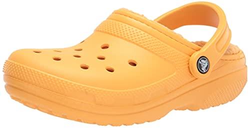 Crocs Classic Lined Clog, Obstruccin Unisex Adulto, Orange Sorbet, 41/42 EU