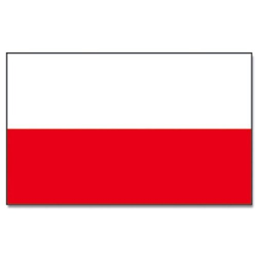 Flaggenking Polen Flagge/Fahne, weiß, 150 x 90 cm, 16888