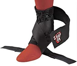 Bird & Cronin 08142373 Swede-O Strap LOK Ankle Support, Medium, Black