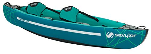 Sevylor Inflatable Kayak Waterton, 2 Man Canadian Canoe, Sea Kayak, 310 x 88 cm