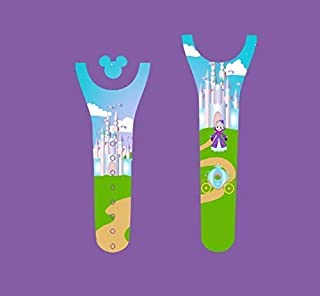 Vinyl Skin Decal Wrap Sticker Cover for The MagicBand 2 Magic Band 2 Castle Godmother and Carriage