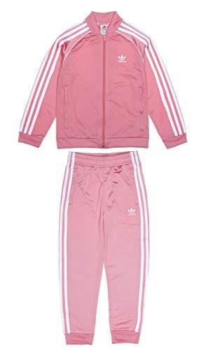 Adidas SST Tracksuit Gn7703 - Conjunto de niña, color rosa y blanco, talla 7/8 años