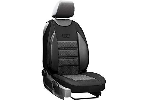 Auto Abdeckung GT Schwarz Sitzbezug geeignet für Toyota Hilux Universall