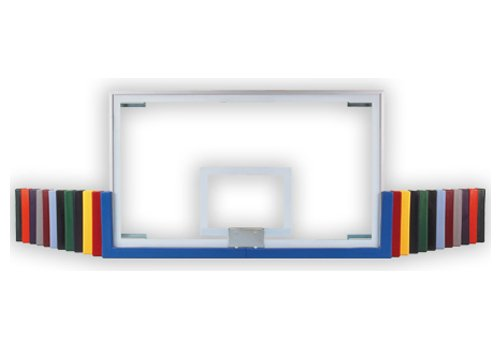 First Team TuffGuard 72-Inch Competition Basketball Backboard Padding Color: Royal Blue