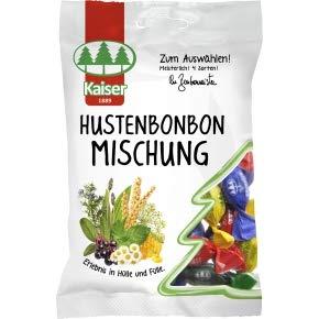 8 Beutel Kaiser Hustenbonbon Mischung a 100g Bonbons Hustenbonbons einzeln gewickelt