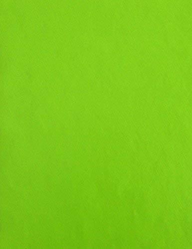 Wachstuch Tischdecke Meterware unifarben grün lindgrün uni 375 Größe wählbar in eckig rund oval (140x160 cm eckig)