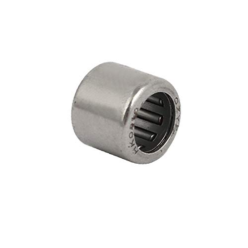 X-DREE 12mmx8mmx10mm Completo Complementado Copa Tonelada Rodamiento Tono Plateado (7fba209b4de10af5cee781cb0245f153)