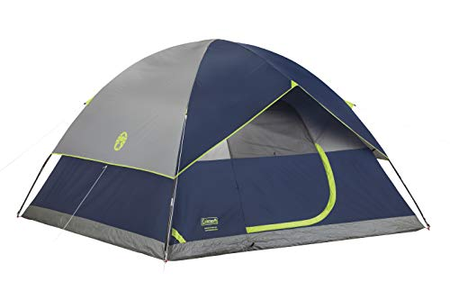 Coleman 4-Person Dome Tent for Camping | Sundome Tent with...
