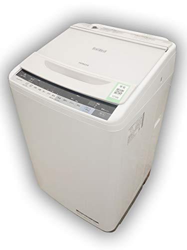 日立 7.0kg全自動洗濯機 エディオンオリジナル ビートウォッシュ ホワイト BW-V70AE4 W