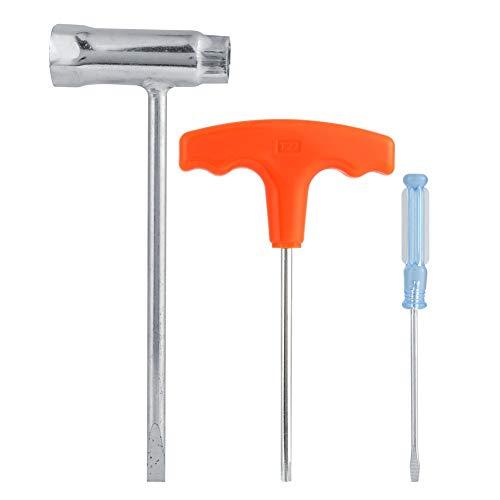Praktisches Kettensägenzubehör Hülse Schraubendreher Schraubenschlüssel Set Werkzeugset passend für Stihl Kettensäge
