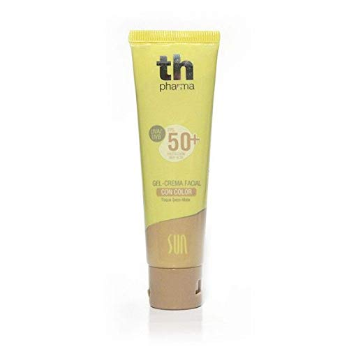 TH PHARMA GEL-CREMA FACIAL 50+ CON COLOR 50 ML