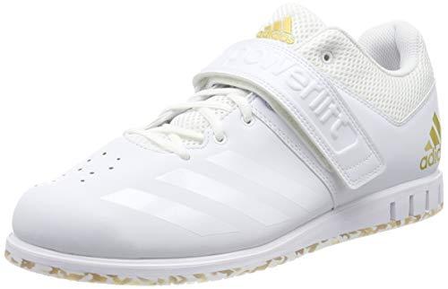 adidas Herren Powerlift.3.1 Multisport Indoor Schuhe, Weiß (White Ac7467), 44 EU