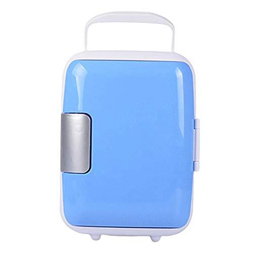 ZLININ Refrigerador de coche 12 V 8 L Mini refrigerador de coche Verano al aire libre viajes oficina hogar nevera para alimentos (Color: Azul)