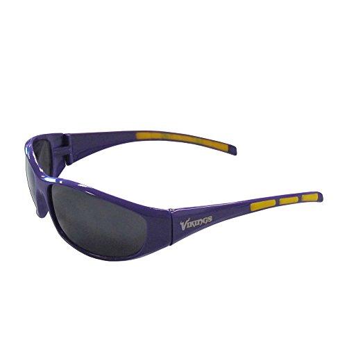 Siskiyou Minnesota Vikings Wrap Sunglasses