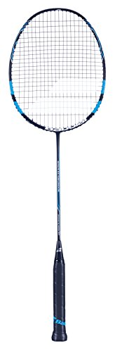 Babolat Satelite Team Essential Badmintonschläger blau schwarz (Allroundschläger der Spitzenklasse)